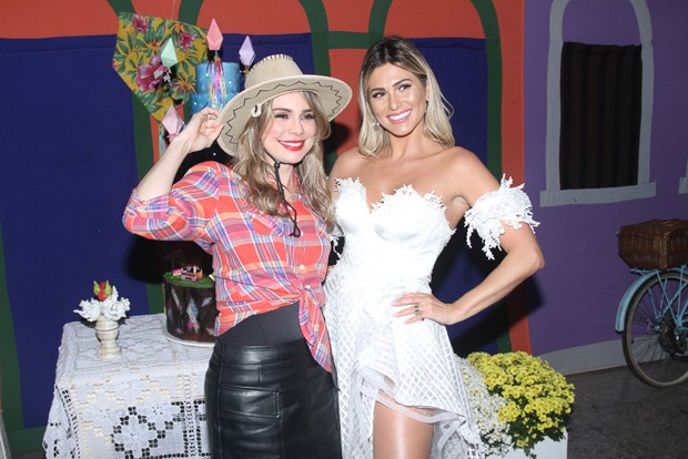 Rachel Sheherazade e Lívia Andrade (Foto:  Amauri Nehn/Brazil News)
