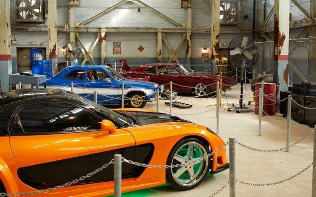 Fast and Furious Supercharger traz alguns carros que participaram do filme à atração (Foto: Orlando Observador)