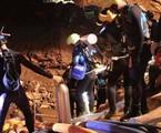 Mergulhadores que participaram do resgate dos meninos tailandeses | AFP