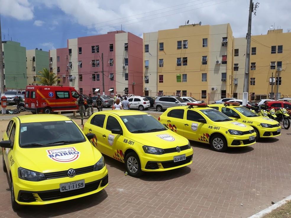 Viaturas e mais rondas são empregados no programa ronda no bairro (Foto: Roberta Batista/G1)
