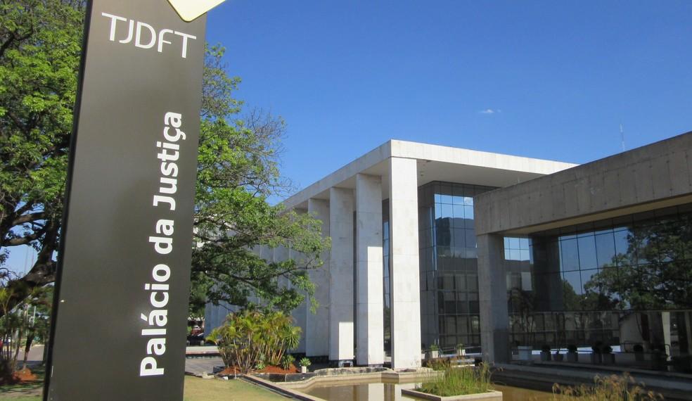 Tribunal de Justiça do Distrito Federal — Foto: Raquel Morais/G1