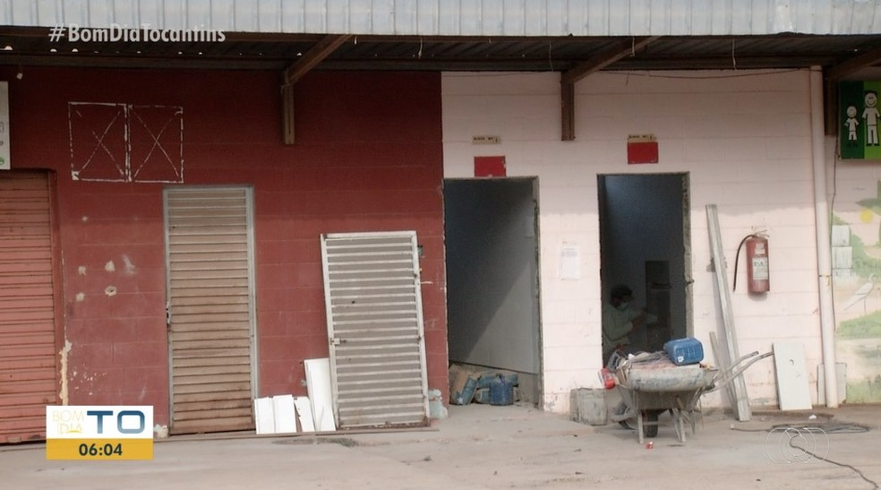 Reforma no rodoshopping de Palmas tem previsão para terminar em dezembro— Foto: Reprodução