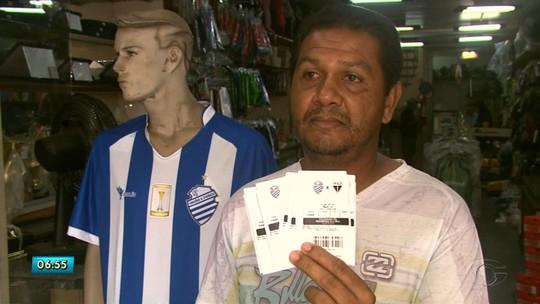 Vai encher: confiantes, torcedores do CSA garantem ingresso para jogão contra o Fortaleza