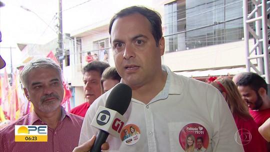 Paulo Câmara promete concluir obras de estações de corredores de BRT no Grande Recife