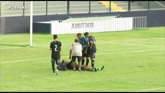 VÍDEO: Goleiro do Remo passa por situação inusitada, mas time vence Tiradentes no Sub-20