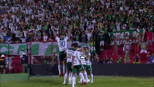 Palmeiras volta a mostrar força e vence o Sport fora de casa