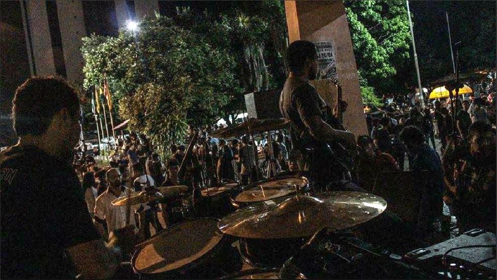 -  Dia Mundial do Rock será celebrado com shows de bandas em Macapá  Foto: Eddie Martins/Arquivo Pessoal