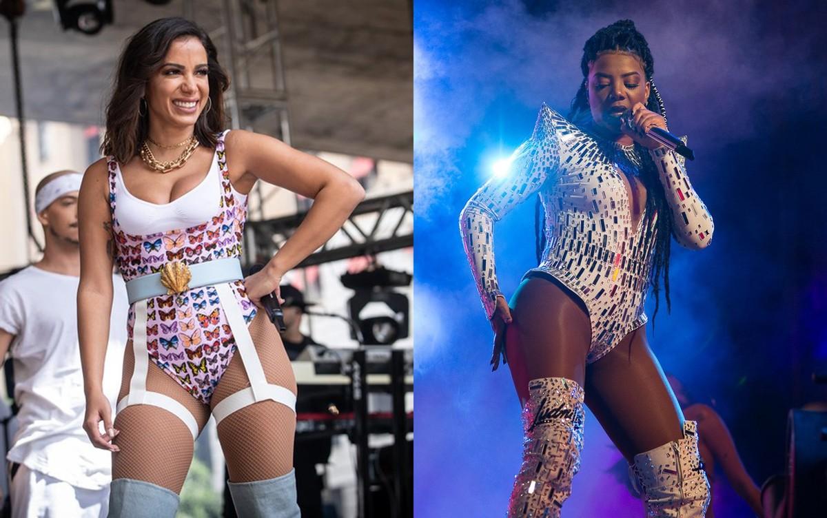 Ludmilla faz desabafo sobre Anitta, expõe áudios da cantora e diz: 'Só quero distância e mais nada' | Música