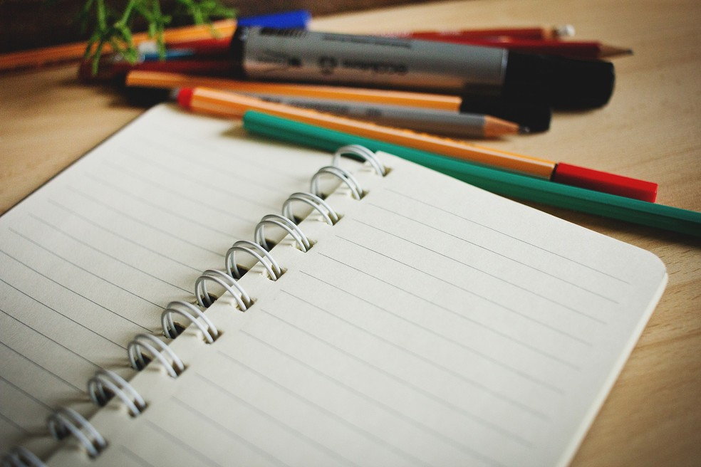 -  Educação cadernos  Foto: Prefeitura de Muriaé/Divulgação