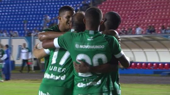 Os gols de Londrina 1 x 3 Goiás pela 11ª rodada do Campeonato Brasileiro Série B