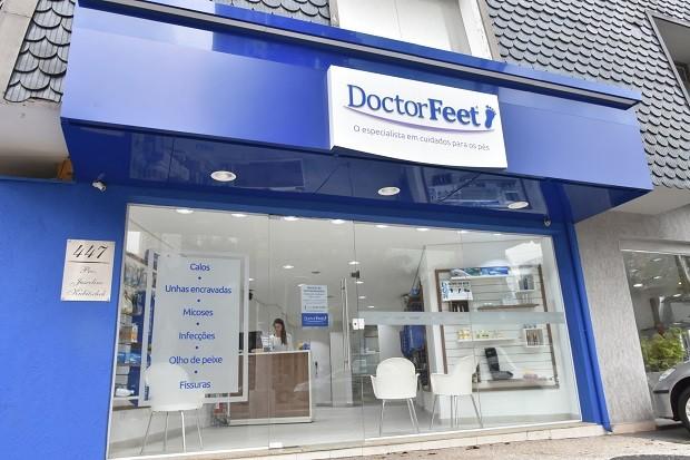 Franquia Doctor Feet criou modelo específico para supermercados (Foto: Divulgação)