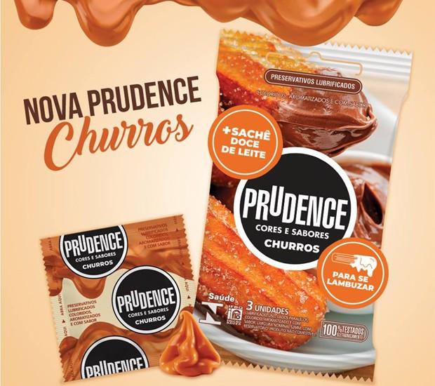 Camisinha de churros lançada pela Prudence (Foto: Divulgação)