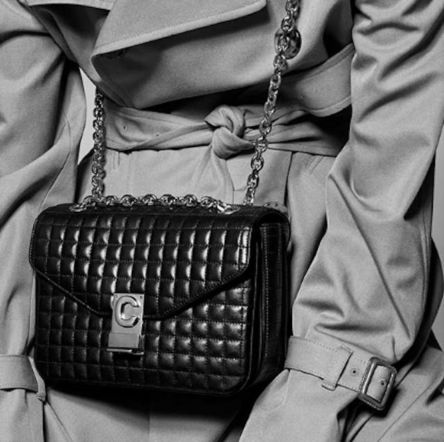 A nova bolsa da Celine, por Hedi Slimane (Foto: Instagram Celine/ Reprodução)