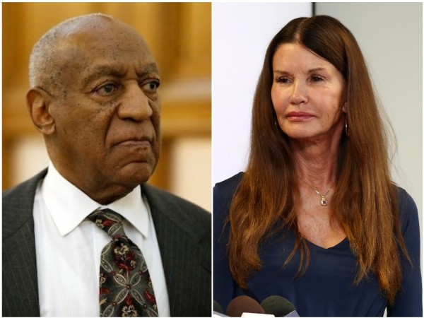 Bill Cosby e a modelo Janice Dickinson (Foto: Getty Images)