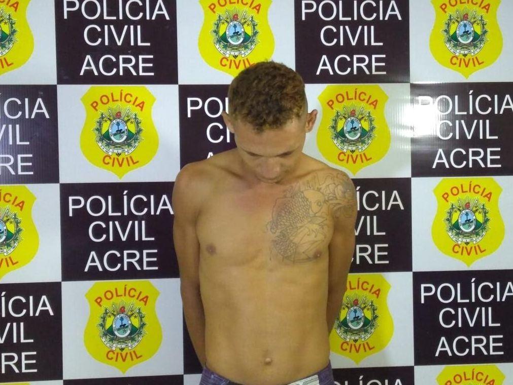 Homem suspeito de roubo e estupro é preso em Rio Branco, diz polícia