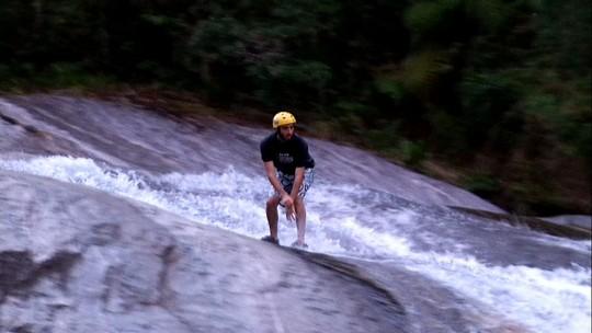 Feras do mountainboard mostraram modalidade ainda mais radical