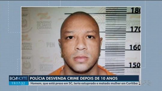 Depois de nove anos, polícia desvenda caso de mulher que morreu após ser estuprada em Curitiba