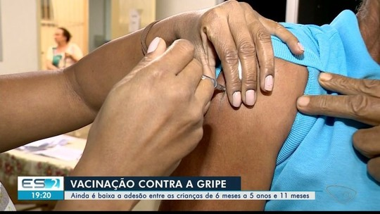 Vacinação de crianças contra a gripe ainda está abaixo do esperado em Colatina, ES