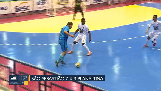 Só goleada: São Sebastião, Águas Claras e Guará desgastam a rede na Copa Brasília