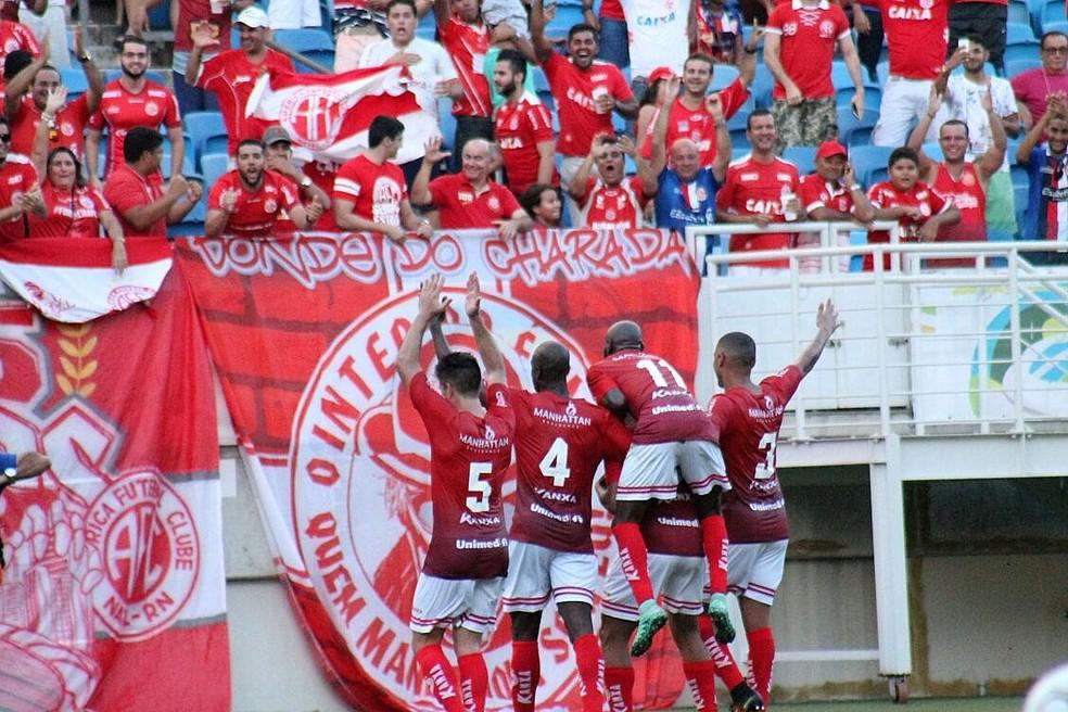 Ingressos para América-RN x Jacobina estão à venda; jogo acontece na próxima segunda-feira, às 19h30 (Foto: Canindé Pereira/América FC)