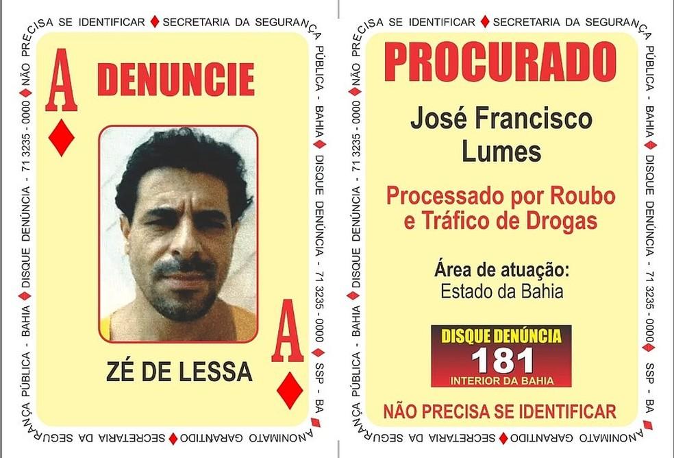 Um dos bandidos mortos era um dos mais procurados do país, segundo a polícia — Foto: Polícia Militar/Divulgação