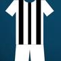 camisa alvinegra, calção branco, Botafogo (Foto: Reprodução/SporTV)