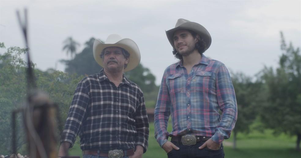 Cena do filme 'Coração de Cowboy' — Foto: Divulgação