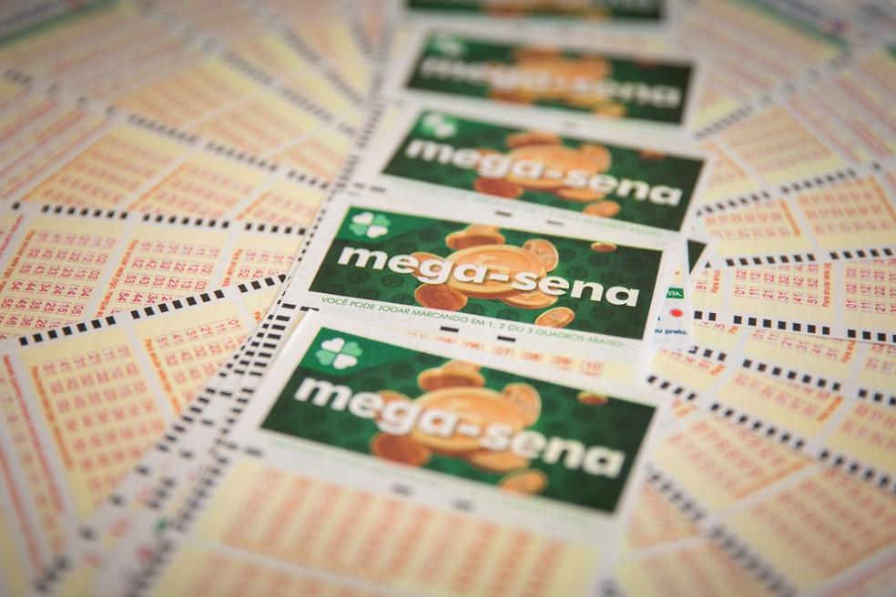 Sorteio do concurso 2.131 da Mega-Sena foi realizado nesta quarta (6) — Foto: Marcelo Brandt/G1