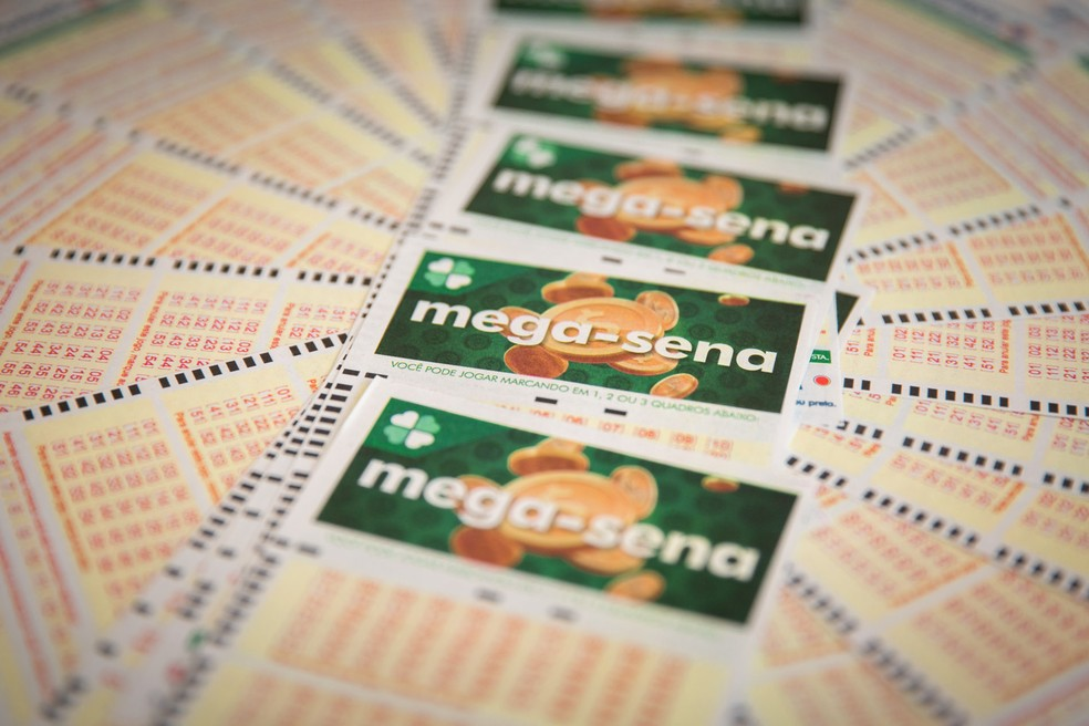 Mega-Sena: concurso 2.101 ocorreu nesta quarta (28) — Foto: Marcelo Brandt/G1