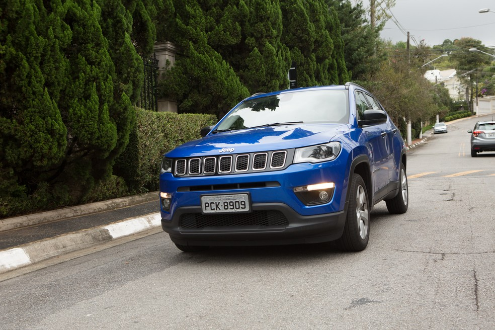 Jeep Compass — Foto: Celso Tavares/G1