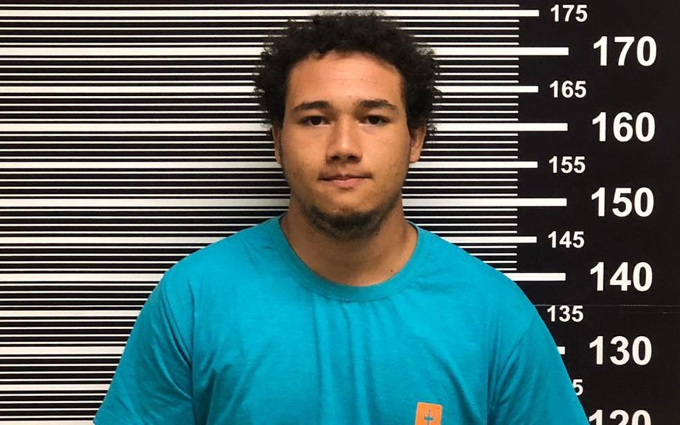 Jefte Ferreira dos Santos, preso pela Polícia Federal por participação na morte de Gegê do Mangue e Paca — Foto: Divulgação/Polícia Federal