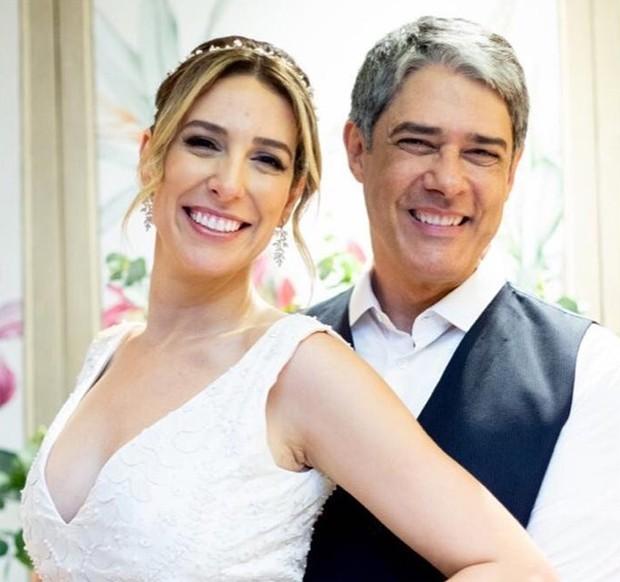 William Bonner e Natasha Dantas (Foto: Georgeana Godinho)