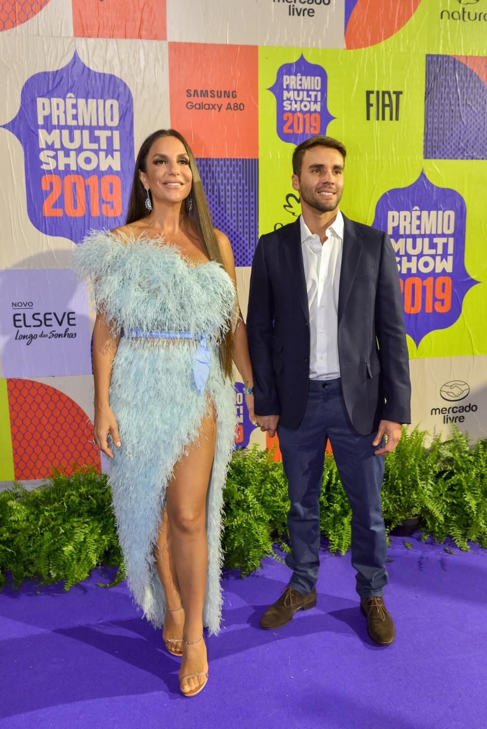 Ivete Sangalo e Daniel Cady prestigiaram o Prêmio Multishow — Foto: Fabio Cordeiro/Gshow