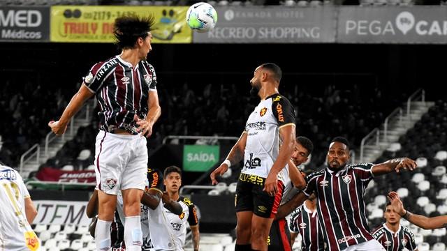 Matheus Ferraz, Fluminense x Sport