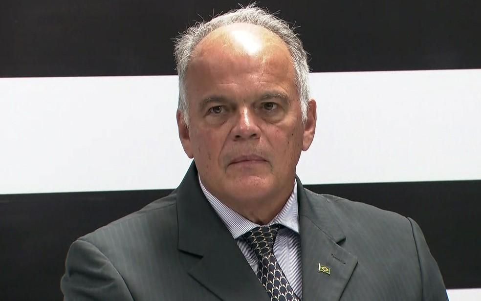General João Camilo Pires de Campos será o secretário da Segurança Pública — Foto: TV Globo/Reprodução