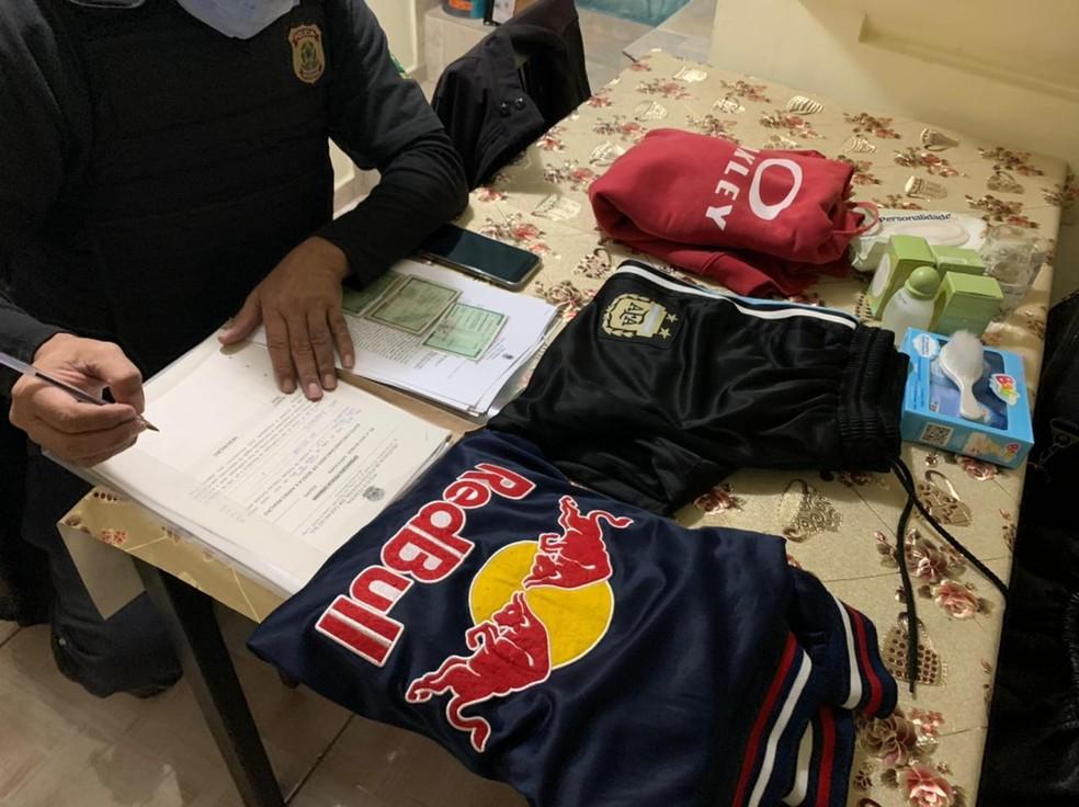 Polícia Federal cumpre mandados de busca e apreensão nesta sexta-feira (23) em SP e Vitória da Conquista, na Bahia. — Foto: Divulgação/PF