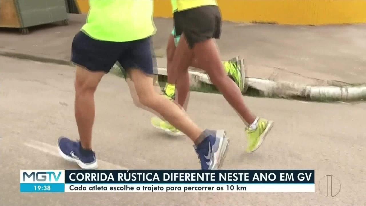 Corrida Rústica é realizada de forma diferente em Governador Valadares