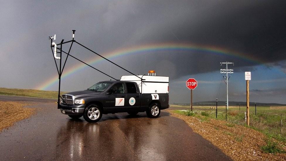 O projeto que levou um exército de 'caçadores de tempestades' à Argentina