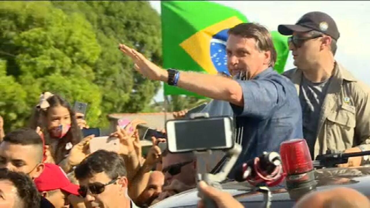 Bolsonaro visita o Amapá 19 dias depois do início da crise energética