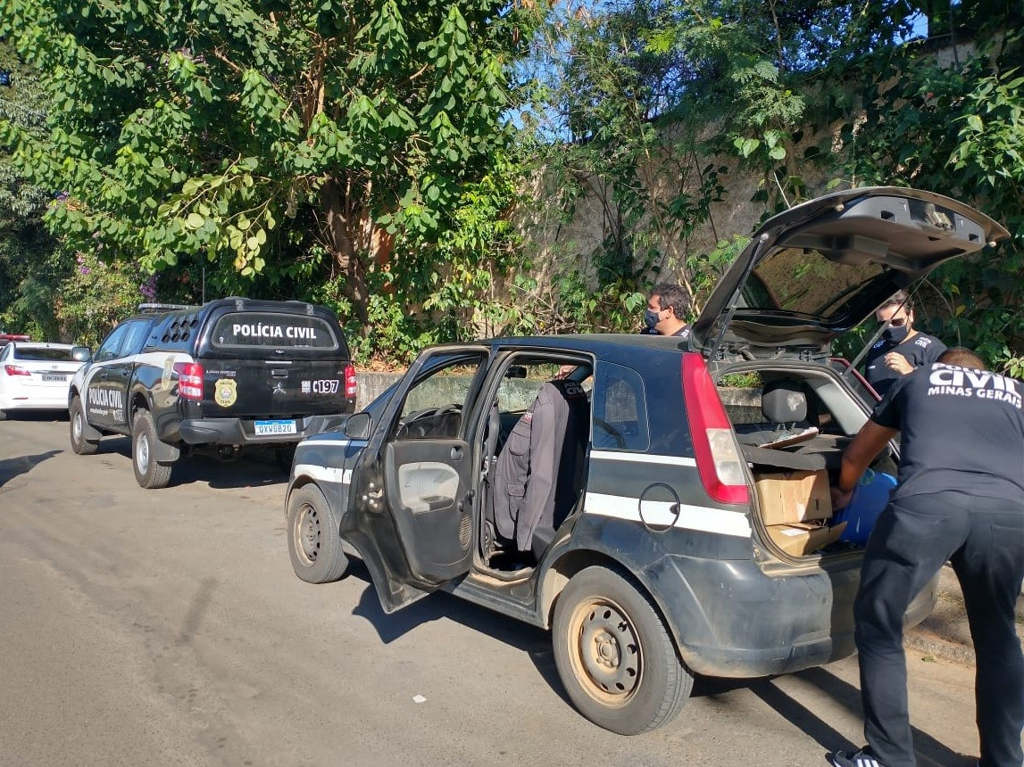Polícia Civil faz operação em cinco cidades de Minas para combater crime ambiental