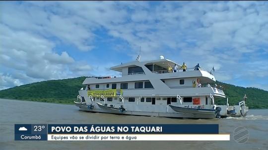 Prefeitura de Corumbá define estratégia para tender famílias do Taquari
