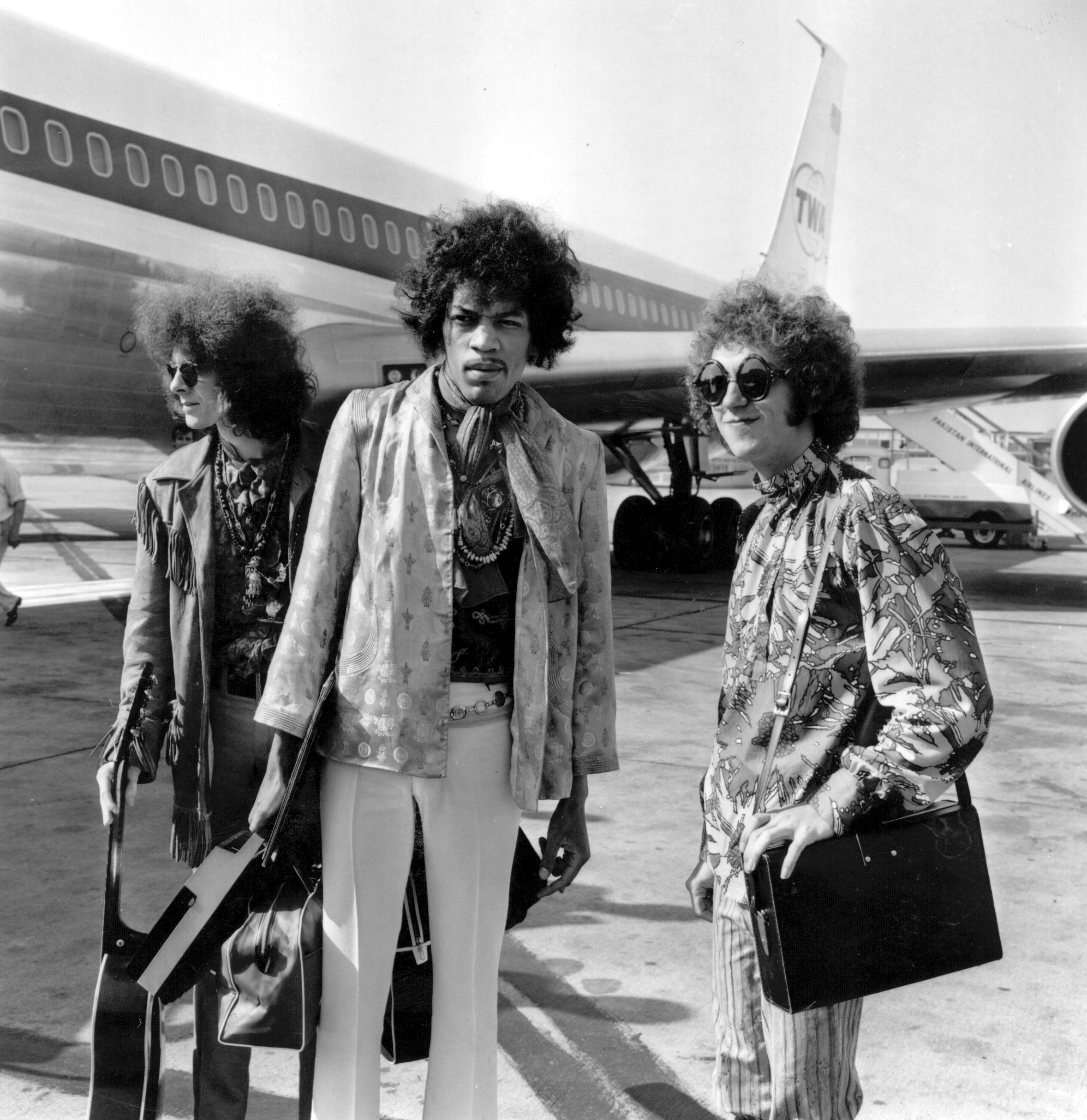 Jimi Hendrix e o boho hippie (Foto: Getty Images)