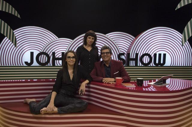 Débora Falabella, Evandro Mesquita e Julia Rezende (ao centro) (Foto: Arquivo pessoal)