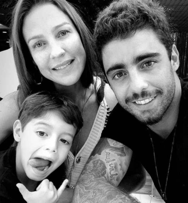 Pedro Scooby, Luana Piovani e filho (Foto: Reprodução / Instagram)
