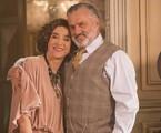 Marisa Orth e Werner Schünemann gravam 'Tempo de amar' | Globo/ Marília Cabral