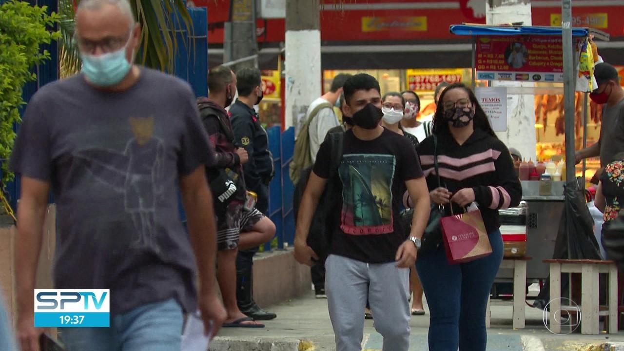 Pesquisa mostra adesão dos paulistanos à máscara