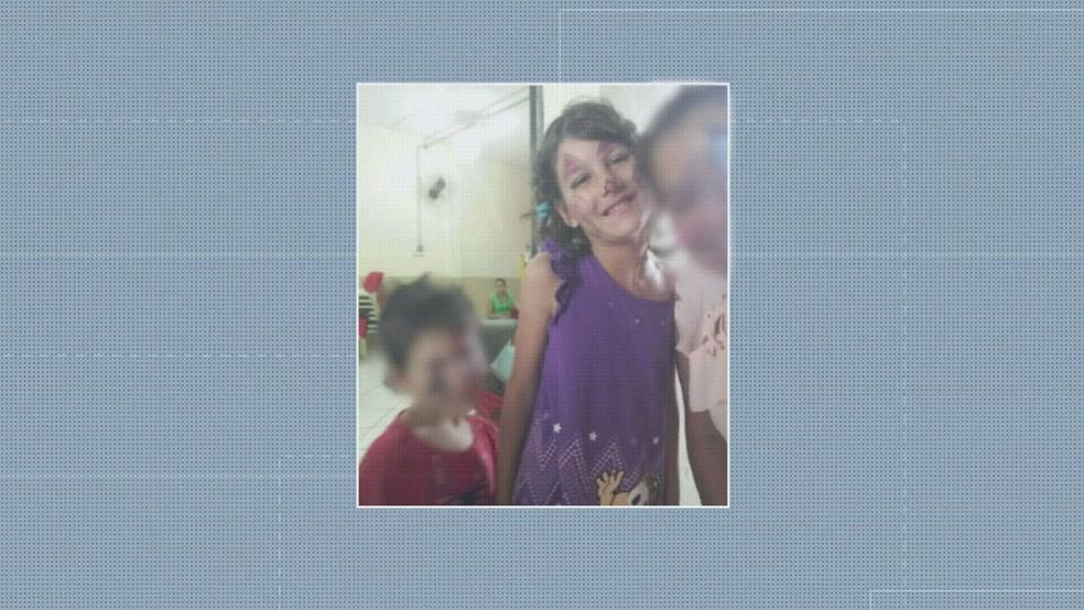 Raíssa tinha 9 anos e fazia tratamento para autismo — Foto: Arquivo Pessoal