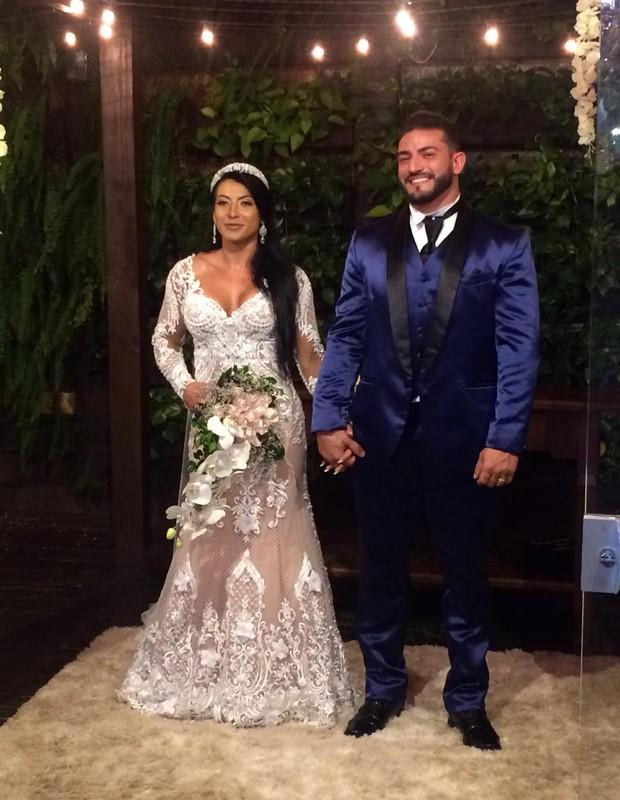 O casamento de Priscila Pires e João Reis (Foto: Daniel Ribeiro/Divulgação)