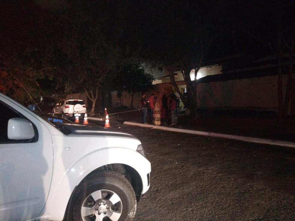 Mortes foram em frente a casa na Arse 71, em Palmas (Foto: Divulgação)