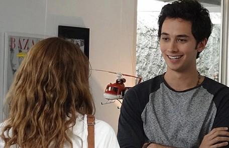 Gabriel Falcão em 'Malhação', em 2013, como Ben TV Globo